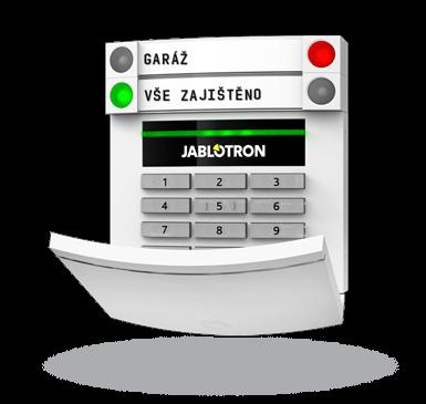 JA-153E Bezdrátový přístupový modul s klávesnicí a RFID