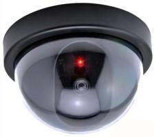 Atrapy a makety bezpečnostních kamer