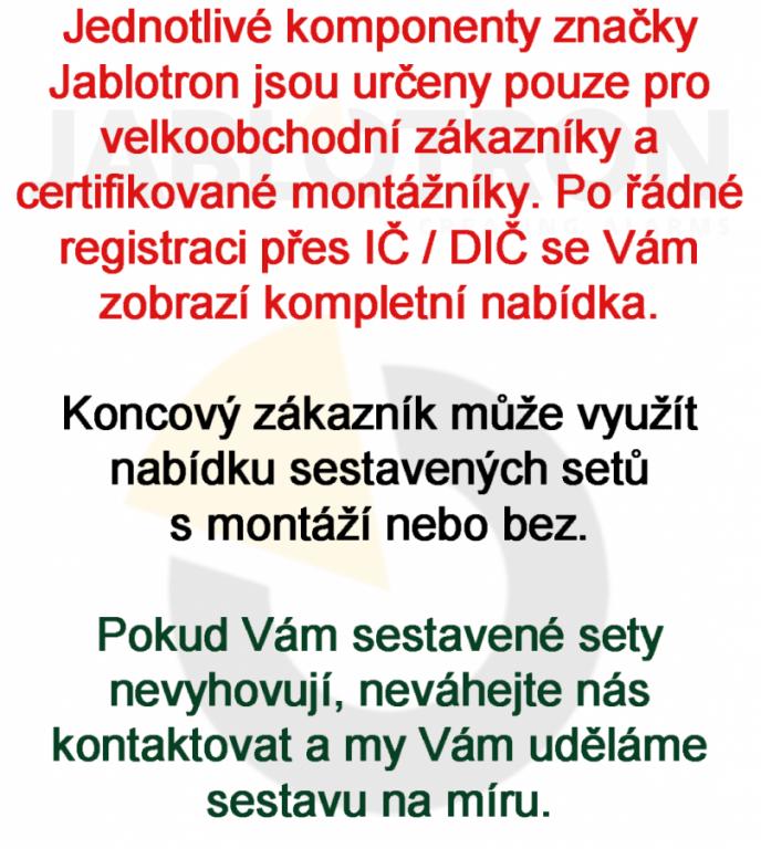 Klávesnice a přístupové systémy Jablotron