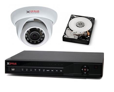 Akční kamerový set IP kamer s NVR záznamovým zařízením se záznamem více než měsíc