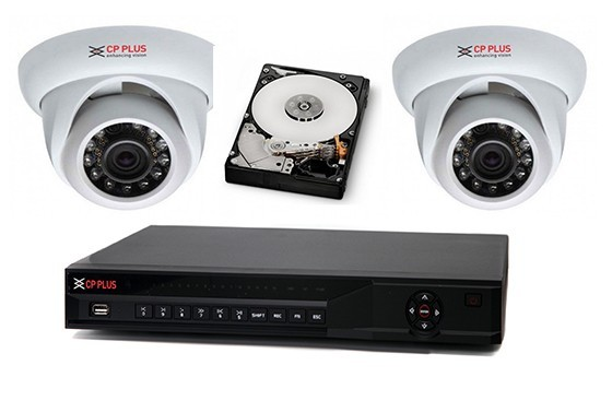 Profi kamerový set 2x IP kamera s NVR záznamovým zařízením se záznamem více než měsíc