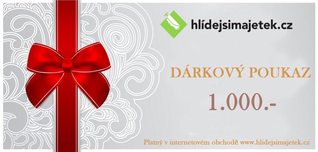 Slevové a dárkové poukazy - hlidejsimajetek.cz
