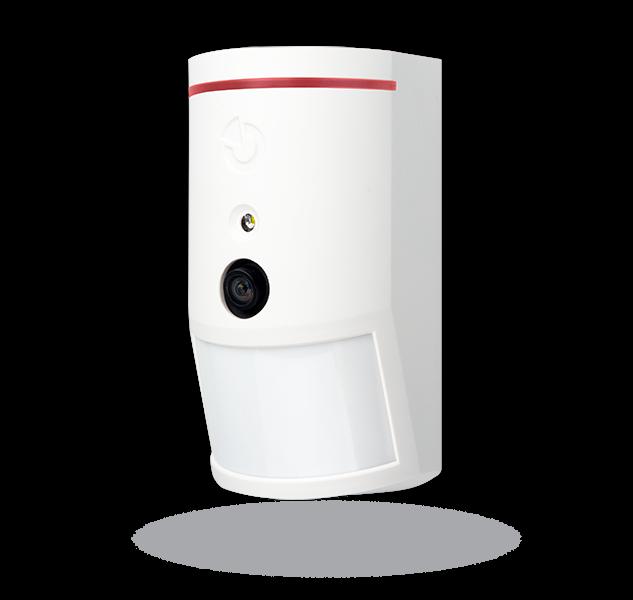 JA-120PC (90) Sběrnicový PIR detektor pohybu s foto verifikační kamerou 90°