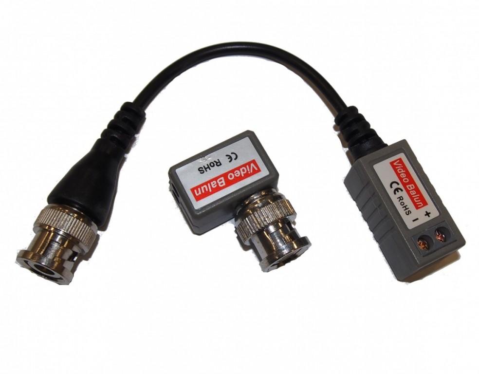 CP-PR-68 Pasivní převodník BNC-UTP pro HD signál - sada dvou různých kusů