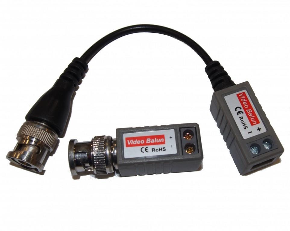 CP-PR-67 Pasivní převodník BNC-UTP pro HD signál - sada dvou různých kusů