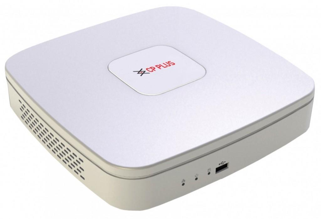 Kamerové systémy CP PLUS CP-UVR-0401E1S-S Digitální videorekordér s kompresí H.264 (tribridní)
