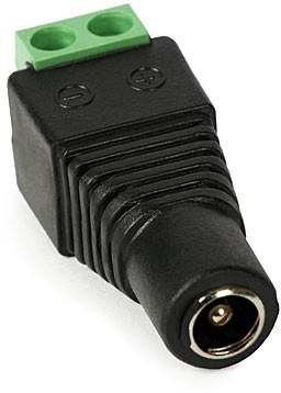 Napájecí konektor (samice) - kamerové systémy CP PLUS
