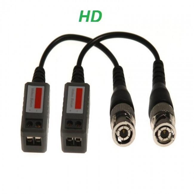HD pasivní převodník BNC - UTP s kabelem(CP-PR-38)