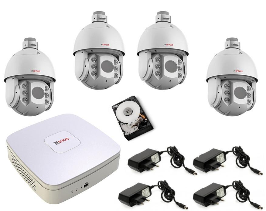 Zabezpečení sportovních areálů a parkovacích ploch - bezpečnostní kamery CP+