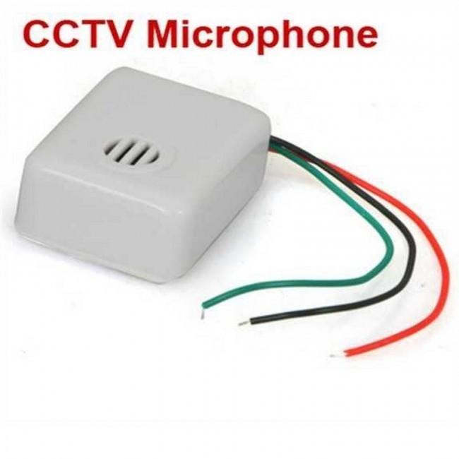 Mikrofon pro CCTV