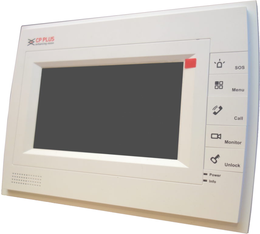 Barevny monitor k videotelefonu CP-UNB-RM352